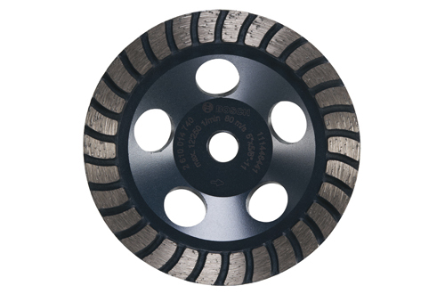 DC530H 5 Inch Turbo Row Diamond Cup Wheel by Bosch