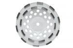 Bosch DC710H 7 Inch Double Row Segmented Diamond Cup Wheel