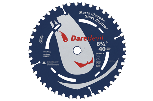 8 1 4 Inch 40 Tooth Finishing Portable Carbide Saw Blade DCB840 by Bosch