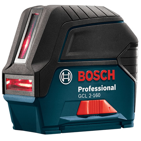 GCL 2-160 Self-Leveling Cross-Line Laser with Plumb Points by Bosch