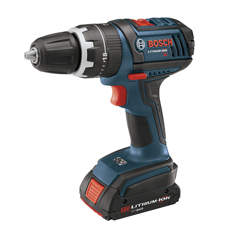 HDS180-03 18V Compact Tough 1 2 Inch Hammer Drill Driver Set by Bosch