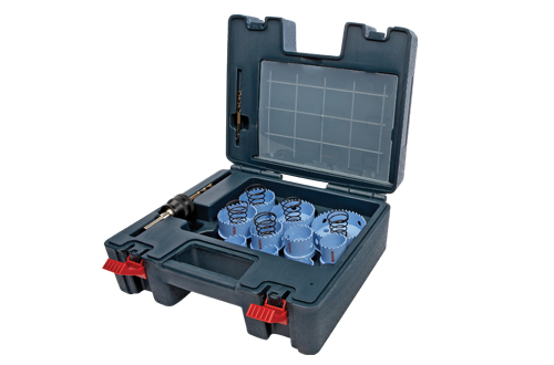 Sheet Metal Hole Saw Sets by Bosch