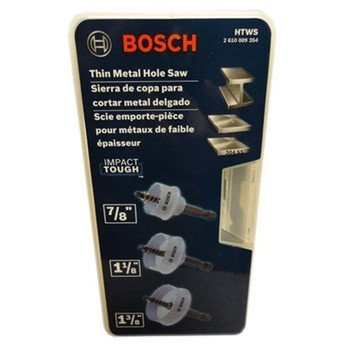 HTWS Thin-Wall Hole Saw Set by Bosch