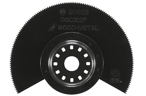 3 1 2 Inch Bi-Metal Segment Blade Wood and Metal 10 Pack by Bosch