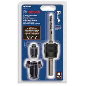 PCM38AN 3 Piece Universal Quick Change Mandrel Kit by Bosch