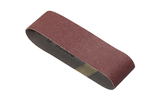 3 x 21 Inch Sanding Belts Grits 40 - 120 by Bosch