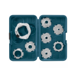 Bosch RA1128 8-Piece Template Guide Kit replaces RA1125
