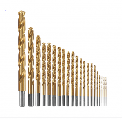 Bosch TI21A Titanium Coated Drill Bit 21 Piece Set Replaces TI18A