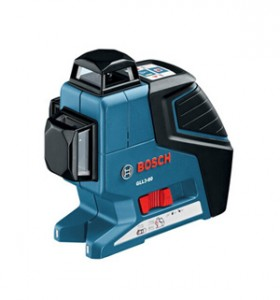 GLL3-80 360-Degree 3-Plane Leveling and Alignment Line Laser by Bosch