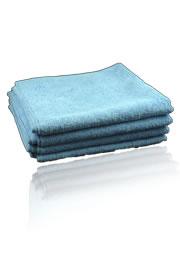 62-501 Micro Cloth Microfiber Polishing Cloth 4 Pack by CSI