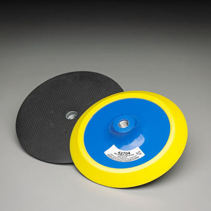 8 Inch 8 Hole BackUp sander Pad by Carborundum Abrasives