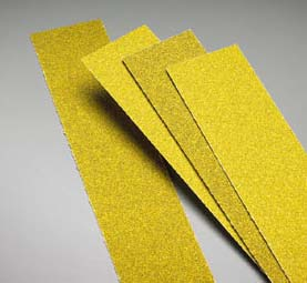 Carbo Gold PSA Coarse Body File Strips Grits 36 and 40 by Carborundum Abrasives