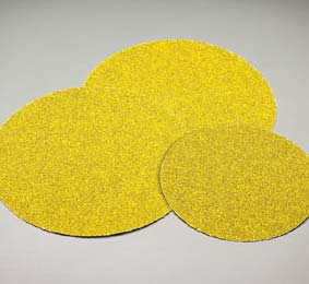 Carbo Gold PSA Coarse Discs 6 Inch Grits 36 - 80 by Carborundum Abrasives
