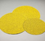 Carborundum Carbo Gold Hook Loop Coarse Discs 8 Inch 80 Grit