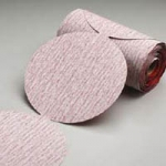 Carborundum 5 Inch Premier Red PSA Disc Roll Grits 80 - 800