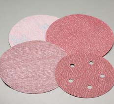 6 Inch PSA Disc Premier Red Fine Grits 1000 - 1500 by Carborundum Abrasives