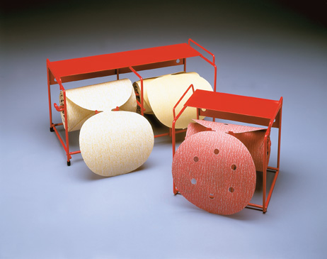 Disc Roll Dispensers for 5 and 6 Inch Linkrolls by Carborundum Abrasives