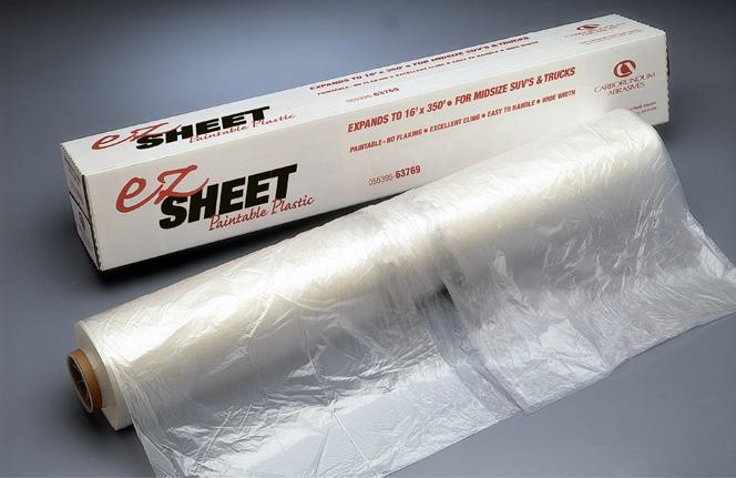 EZ Sheet Plastic Protective Sheeting by Carborundum Abrasives