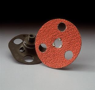 5 inch EZView Flex Loc Discs by Carborundum Abrasives