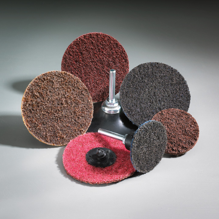 Fibratex Nonwoven Surface Blending Discs 3 Inch by Carborundum Abrasives