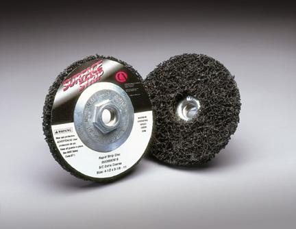 Fibratex Surface Strip Depressed Center Wheels by Carborundum Abrasives