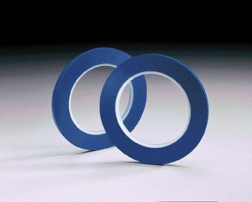 Blue Fine Line Tape 36yd Roll by Carborundum Abrasives