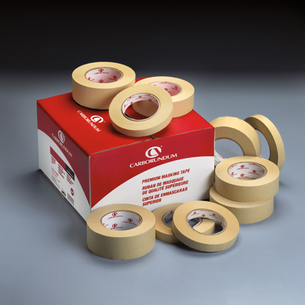 Premium Masking Tape 55m Roll by Carborundum Abrasives