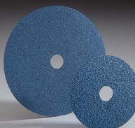Merit Zirconia Resin Fiber Discs 7 Inch by Carborundum Abrasives
