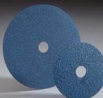 Carborundum Merit Zirconia Resin Fiber Discs 7 Inch
