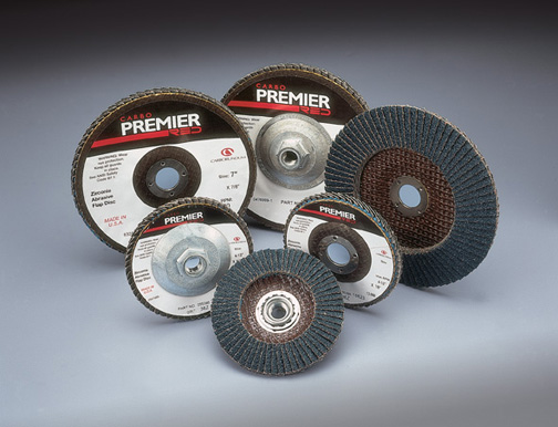 Premier Red Flap Discs 4 Inch by Carborundum Abrasives