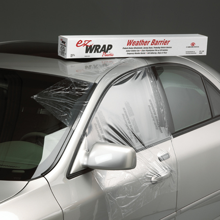 EZ Wrap Car Protection Plastic by Carborundum Abrasives