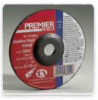 Z24 Premier Red Depressed Center Wheels by Carborundum Abrasives