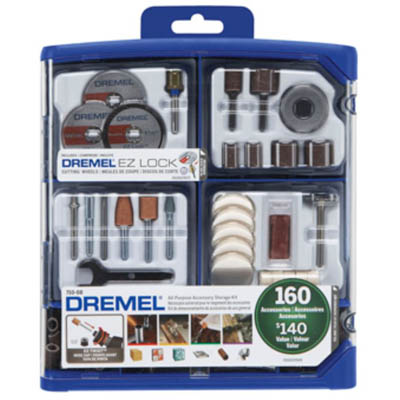 160 710-08  710-05 Piece All Purpose Accessory Kit by Dremel