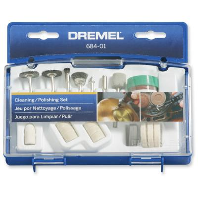 20 Piece Cleaning and Polishing Accessory Set by Dremel