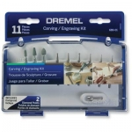 Dremel 11 Piece Carving and Engraving Mini Accessory Kit