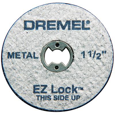 EZ456 EZ Lock Cut-Off Wheels 1 1 2 Inch by Dremel