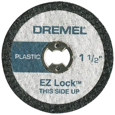 EZ476 EZ Lock Plastic Cut-Off Wheels 1 1 2 Inch by Dremel