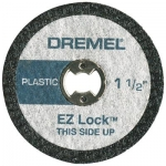 Dremel EZ476 EZ Lock Plastic Cut-Off Wheels 1 1 2 Inch