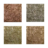 Metallic Tile Impression Artisan Field Tile 4 x 4 Inches by Tiles-R-Us