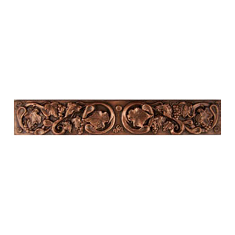Metallic Tile Tuscan Rail 2 x 12 Inches by Tiles-R-Us