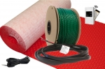 FlexTherm Green Cable Surface XL 120 VAC Radiant Floor Heat System