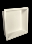 HCP Ceramic Large Recessed Shower Niche H12R Maroon