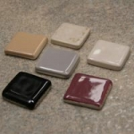 Ceramic Niche Shelf and Dish Approximate Color Sample Chips