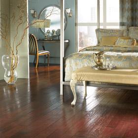 Beacon Dark Edged Textured Surface Wood Floor 5 Inch by Harris Wood