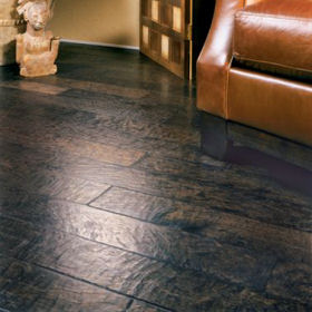 Craft Rustic Textured Surface Wood Floor 5 Inch by Harris Wood