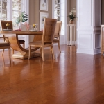 Distinctive Domestic Exotic Smooth Finish Wood Floor 5 Inch