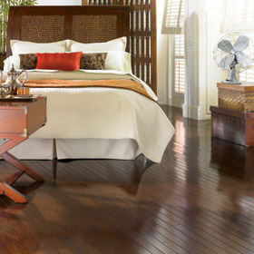 Easy Snap Together Smooth Finish Wood Floor by Harris Wood