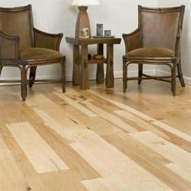 Hickory Trail Rustic Textured Surface Wood Floor by Harris Wood