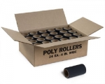 Poly Roller 4 Inch By Jen Manufacturing 24 Rollers 1 Case