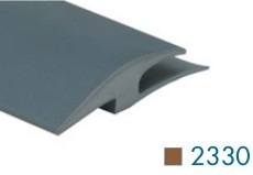 2330 Vinyl Carpet To Tile Reducer by Loxcreen